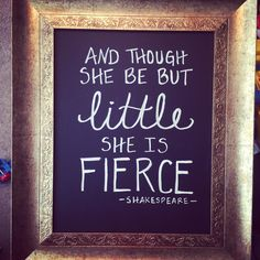 Quote for my baby girl's room!