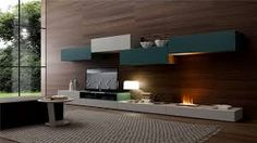 stunning fireplace modern kitchen design - Electric Fireplace Design Ideas