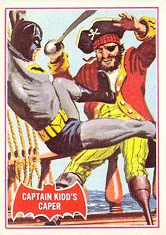 Batman Red bat (Topps, 1966)