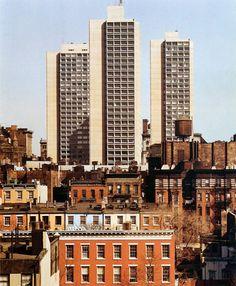 blah-city:  Silver Towers, New York University byI.M. Pei,...