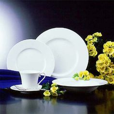 Buy Satin White 20 Piece Dinnerware Set online at Mikasa.com