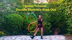 Twin Hoop Tutorial: Double Mandala Step Out Military Couples, Military Love, Army Love, Hula Hoop Workout, Flow Arts, Fitness, Twins, Mandala, Hula Hooping