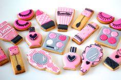 cosmetics icing cookies.