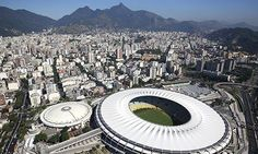 Rio's Maracanã stadium will host the World Cup final! Find more best places to watch the World Cup in Brazil: http://pin.it/V6SKWXH