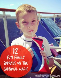 12 Fun Family Surprises on the Carnival Magic - R We There Yet Mom? | Family Travel for Texas and beyond...
