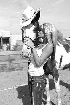 Thats a cute pic...wish I still rode horses