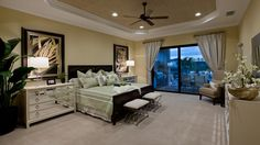 Toll Brothers The Aragon Master Suite