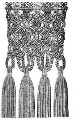 Macrame- I used to Marcrame! In college! Bet I could still do it!!! might try?