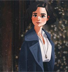 While I'm finishing my inktober illustration wanna to show you this beauty😍 Illustration for ❤️ To see more commission… Arte Do Harry Potter, Harry Potter Universal, Character Illustration, Illustration Art, Fantastic Beasts Fanart, Mode Poster, Desenhos Harry Potter, Cute Art, Amazing Art