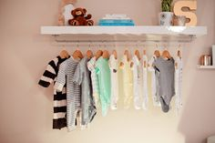 DIY Nursery Wardrobe