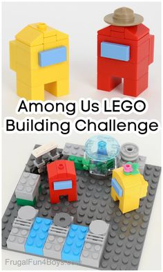 Lego For Kids, Fun Crafts For Kids, Activities For Kids, Building For Kids, Lego Building, Legos, Lego Challenge, Lego Club, Lego Craft