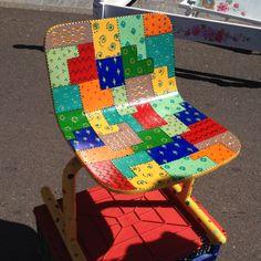 Cute idea for kids chair:)
