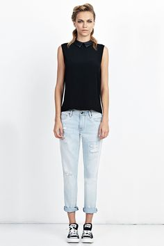 10 Brand-Spankin' New Denim Trends #refinery29  http://www.refinery29.com/denim-trends#slide14