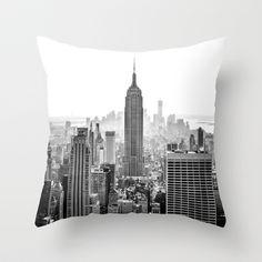 New York City Throw Pillow by Studio Laura Campanella - $20.00