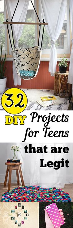 DIY projects, projects for teens, cool teenage craft projects, craft projects, popular pin, crafting, craft projects, DIY everything, DIY.