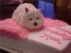 daisy tort Dog Cakes, Westies, Scottie, Cake Art, Amazing Cakes, Cake Decorating, Daisy, Good Food, Cool Stuff