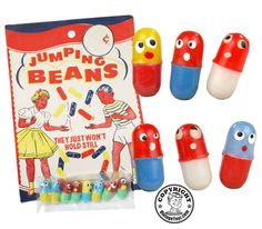 1960s Magic Jumping Beans