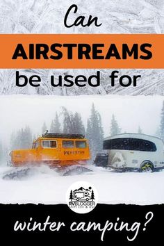 Airstream travel trailers are designed for year round camping. Some features are equipped to handle extreme weather, like the RV plumbing pipes and tanks are all enclosed in a heated compartment so if the heat is on your plumbing components will not freeze. Check out these great tips to protect your Airstream trailer during winter camping. Cold Weather Camping, Winter Camping, Winter Travel, Airstream Travel Trailers, Airstream Campers, Rv Camping Tips, Extreme Weather, Rv Travel, Rv Life