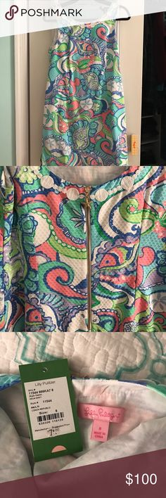Conch republic Lilly dress Worn once, size 8 Lilly Pulitzer Dresses Midi