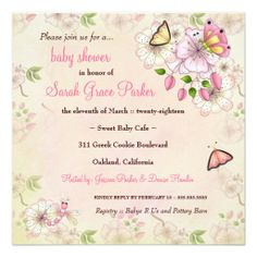 Shop LGC Garden Baby Shower Invitation created by TheGreekCookie. Personalize it with photos & text or purchase as is! Baby Shower Invites For Girl, Baby Shower Themes, Baby Shower Decorations, Baby Shower Invitations, Custom Invitations, Shower Ideas, Girl Shower, Invitation Templates, Garden Baby Showers