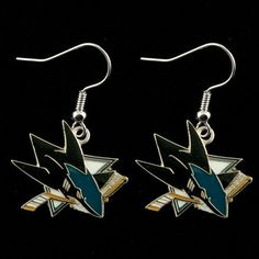 San Jose Sharks - NHL Team Logo Dangler Earrings by aminco. $10.25. Show your support for the San Jose Sharks with these Team Logo Dangler Earrings. Save 32% Off!