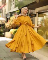 Muslim Fashion 817262663615869422 - ✔ Fashion Dresses Muslim Beautiful Source by assatouloum Hijab Fashion Summer, Modest Fashion Hijab, Modern Hijab Fashion, Muslim Women Fashion, Modesty Fashion, Hijab Fashion Inspiration, Islamic Fashion, Street Hijab Fashion, Fashion Dresses