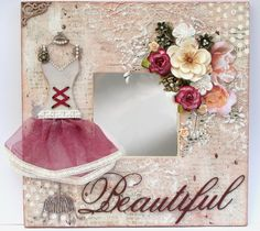 Moments of Tranquility... by Natasha Naranjo Aguirre: Mixed Media Background Tutorial