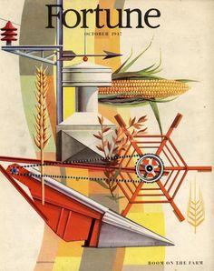 Edmund Lewandowski   Farm Mechanisation   Fortune Mag cover