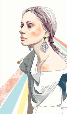Portrait Illustrations by yourPorcelainDoll | InspireFirst
