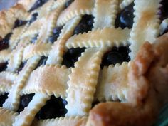 Blueberry Pie--delicious recipe!