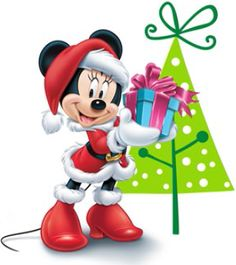 Christmas - Disney - Minnie Mouse