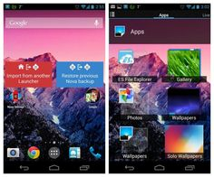 Here are some of the best android launcher app you should download and try. Best of all these launcher app for android available for free.