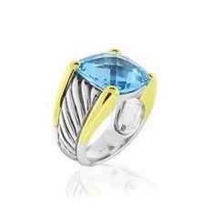 David Yurman  14x14MM Cable Ring  $780