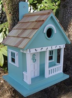 Victorian+cottage+birdhouses | Home Bazaar Birdhouse Collection, Distinctive Handcrafted Victorian ...