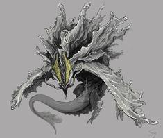 Amatsumagatsuchi - Monster Hunter Fanart Amatsumagatsuchi, the Storm Dragon Monster Hunter Series, Monster Hunter Art, Monster Art, Alien Concept Art, Creature Concept Art, Creature Design, Fantasy Dragon, Dragon Art, Magical Creatures