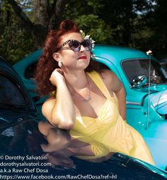 Pin Up's & Tattoos at the Gasket Goons Car Show