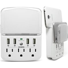 RND Power Solutions smartphone power station provides a convenient solution for your daily charging needs. RND Power Solutions charging station includes three o