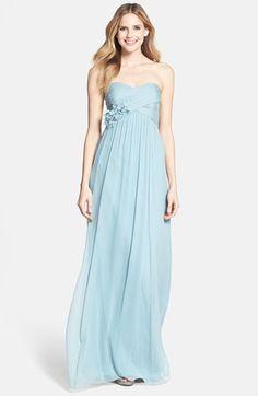 Sienna dress by Jenny Yoo in Ciel Blue   Long light blue bridesmaids' dress
