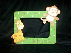 hand-painted picture frames
