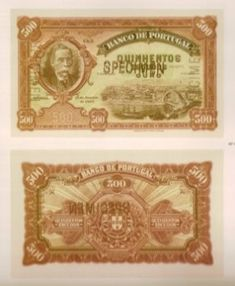 500 escudos, 1925