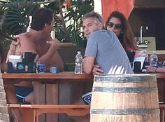 George and Amal Clooney Vacation in Mexico With Pals Cindy Crawford and Rande Gerber  George Clooney, Amal Alamuddin, Cindy Crawford, Rande Gerber
