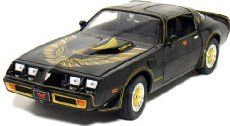 """Smokey and the Bandit II"" 1980 Pontiac Trans Am Turbo 4.9 (Black)   Die Cast…"