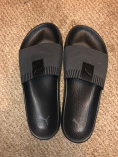 Adidas Sandals, Addidas Sneakers, Leather Slippers For Men, Womens Slippers, Fashion Slippers, Fashion Sandals, Versace Slippers, Marvel Shoes, Mens Boots Fashion