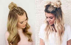 Hairstyles for school for girls: light and beautiful . Cute Hairstyles For Teens, Teen Hairstyles, Hairstyles For School, Hairdresser, Hair Extensions, Short Hair Styles, Hair Beauty, Makeup, People