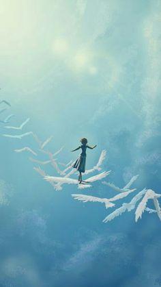 art photography - 61 trendy ideas for fantasy art painting sky painting art Fantasy Kunst, Anime Scenery, Surreal Art, Art Girl, Lightroom, Cool Art, Concept Art, Art Drawings, Illustration Art