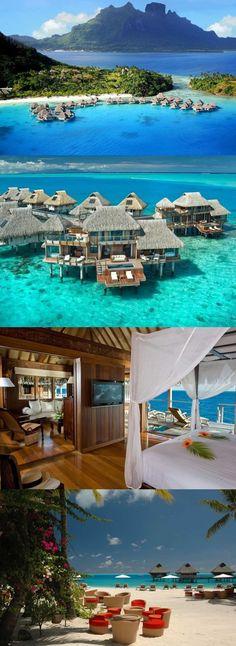 Hilton Bora Bora Nui Resort & Spa - Vaitape, French Polynesia.