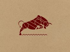Bull by Brian Steely #Design Popular #Dribbble #shots