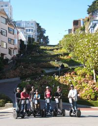 The San Francisco Crooked Street Segway Tour is the newest most challenging route yet! Ideal for those who have ridden a Segway before, wish to see a little more and test the machine a little further. What better testing grounds than the hills of San Francisco! www.partner.viator.com/en/11907/tours/San-Francisco/San-Francisco-Crooked-Street-Advanced-Segway-Tour/d651-2062CRO