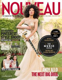 Singer Andy Allo on Summer of Nouveau Magazine