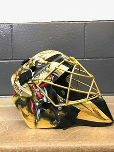 Fleury Vegas Golden Knights Mask Golden Knights Hockey a7de7c8c6